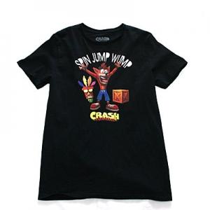 クラッシュ・バンディクー SPIN JUMP WUMPTシャツ