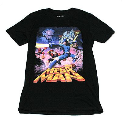 ロックマン 欧州版NES Tシャツ