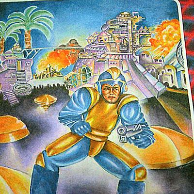 ロックマン 北米版NES Tシャツ
