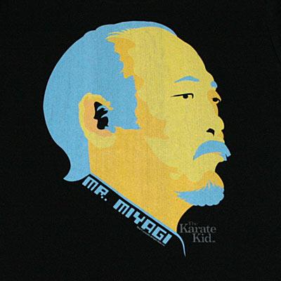 ベストキッド Mr. MIYAGI Tシャツ