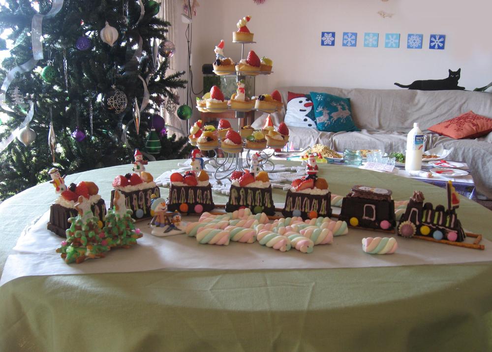 クリスマスケーキ 汽車