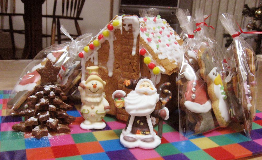 クッキー お菓子の家