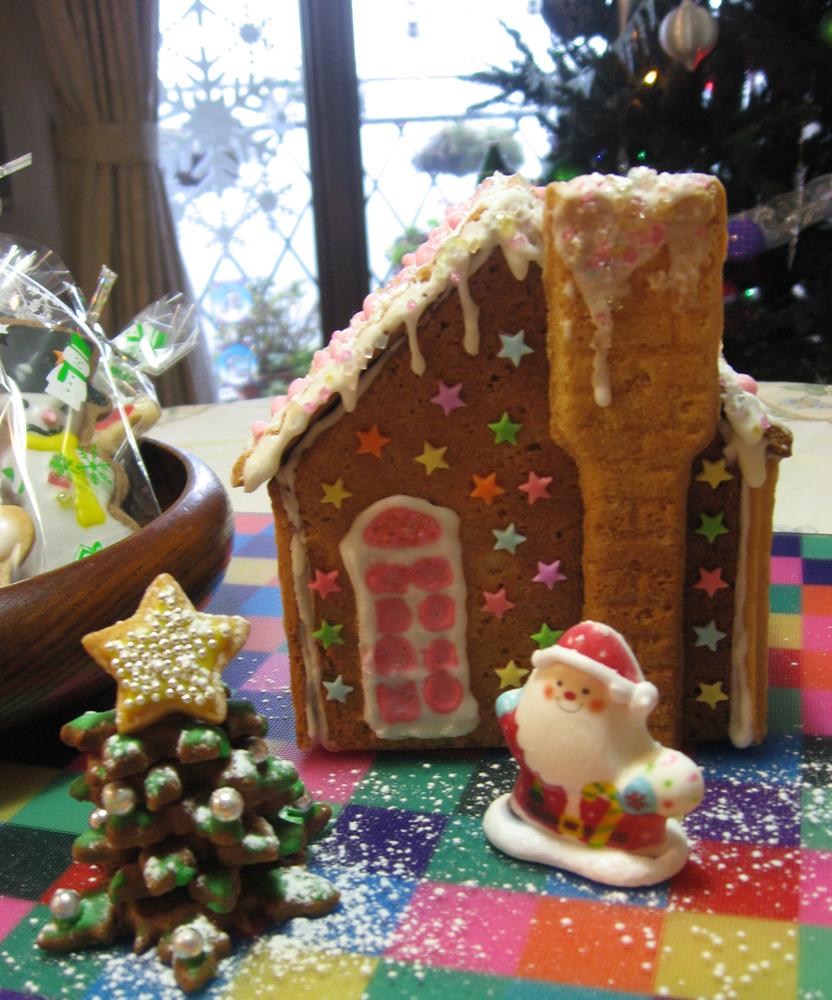 お菓子の家 クリスマス
