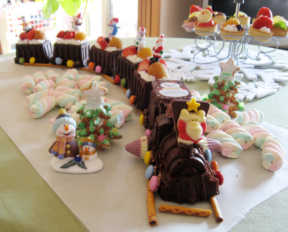 機関車 ケーキ