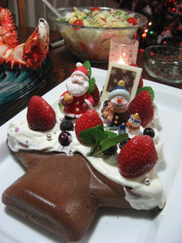 クリスマスツリー ケーキ