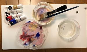 陶器鉢 ペイント リメイク 道具