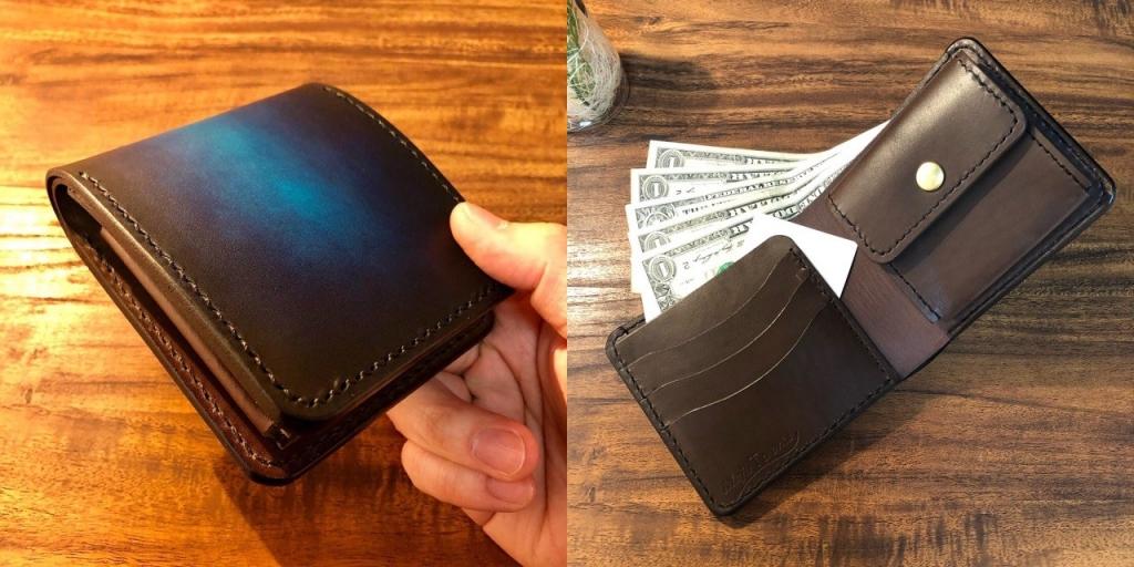 2つ折り財布の詳細