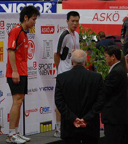 古財和輝選手バドミントン2009オーストリア国際男単優勝