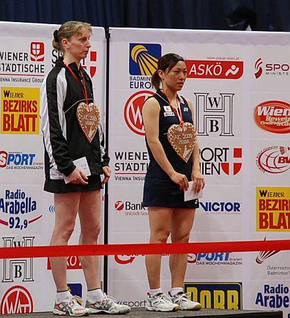 バドミントン2009オーストリア国際、今別府香里選手3位