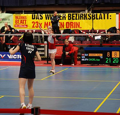大堀彩選手、オーストリア国際2013予選2