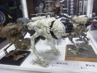 オリジナルモデル展示