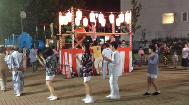 盆踊り-荏原