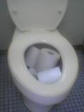 男子トイレの大便器1