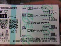 11レース(天皇賞)