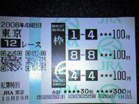 12レース(紅葉特別)