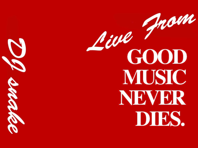 Live from Good Music Never Dies!