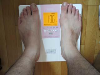 8月体脂肪率