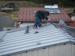 熱交換塗料の施工