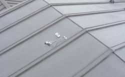 熱交換塗料塗屋根