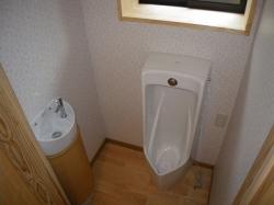 トイレ完成2