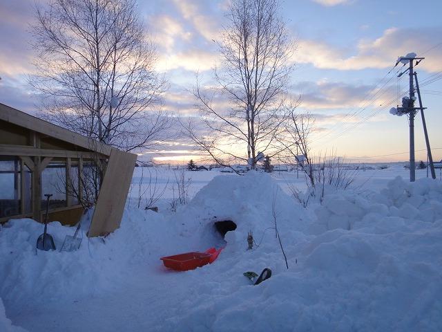 同じ1月27日の夜明けの写真