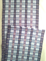 帯織りあがり