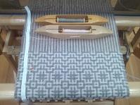 二重織りマフラー