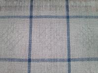 麻ランチョンマット織り柄