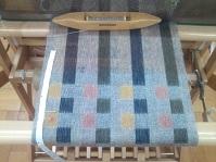 二重織りカラフルマフラー