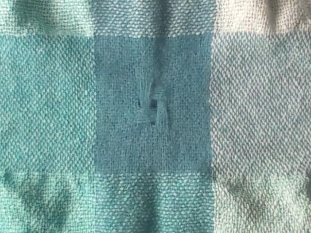ショール絹×カシミヤ縮絨拡大