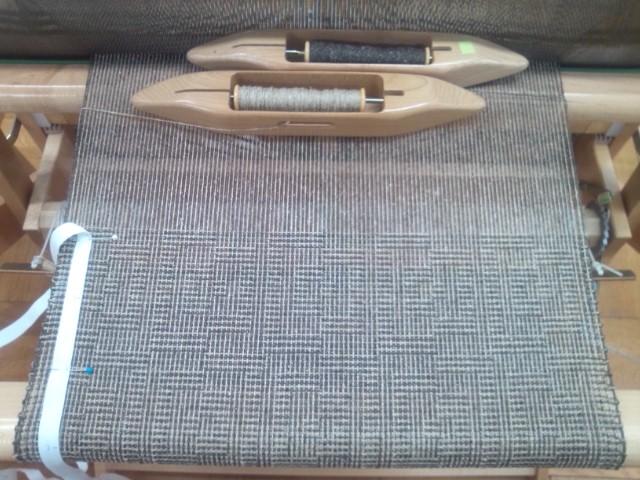絹紬糸秋用ショール