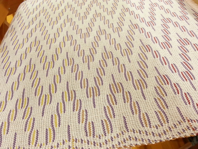 めがね織り帯1