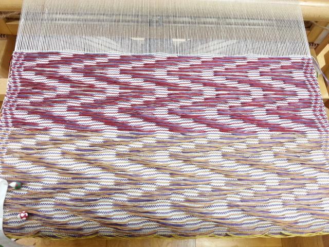 めがね織り帯2