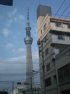今日のスカイツリー2011.11.30.