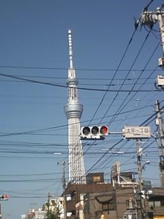 今日のスカイツリー2012.11.07.