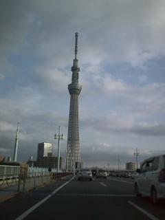 今日のスカイツリー2012.12.23.
