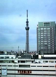 2013.01.06.のスカイツリー