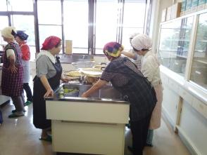 旗川公民館豆腐作り教室2