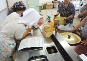 旗川公民館豆腐作り教室3