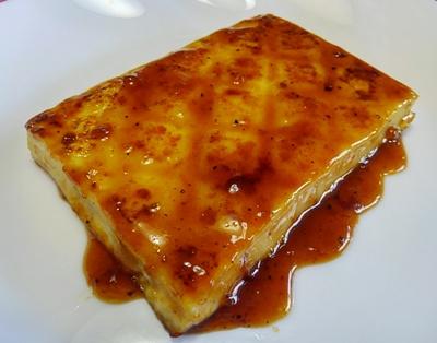 豆腐ステーキ調理例