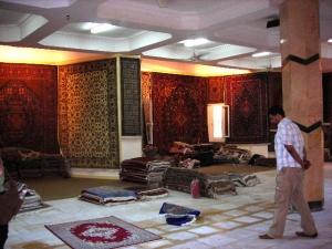 エジプト絨毯