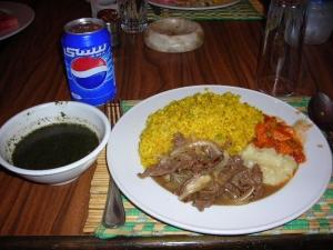 ラストエジプト昼飯