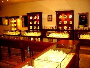 トルコ石の店