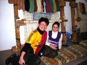 トルコ絨毯の店