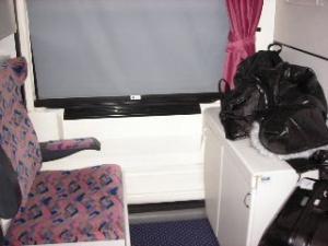 寝台の個室