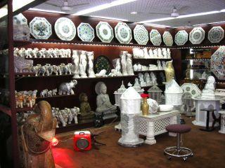 大理石の店