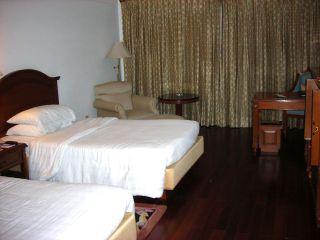 アーグラーのホテルの部屋
