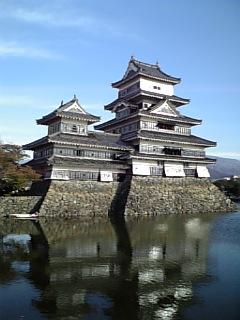 松本城全景