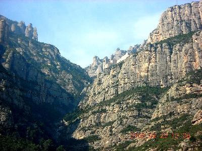 モンセラの山