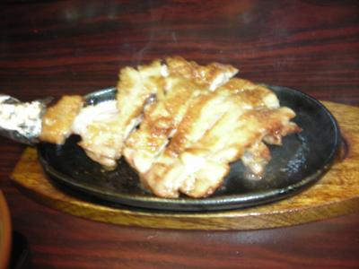 鶏のモモ焼き